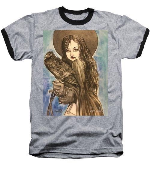 Raven Witch Baseball T-Shirt
