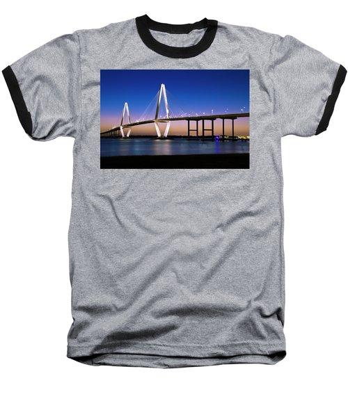 Baseball T-Shirt featuring the photograph Ravenel Bridge 2 by Bill Barber