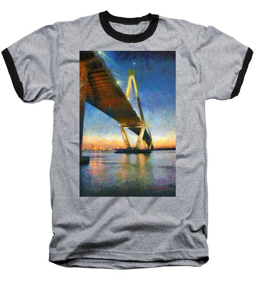 Ravenel Bridge Baseball T-Shirt