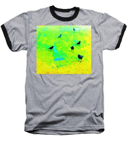 Ravens At Dick's Drive-in Baseball T-Shirt