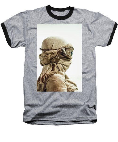 Ray From The Force Awakens Baseball T-Shirt by Micah May