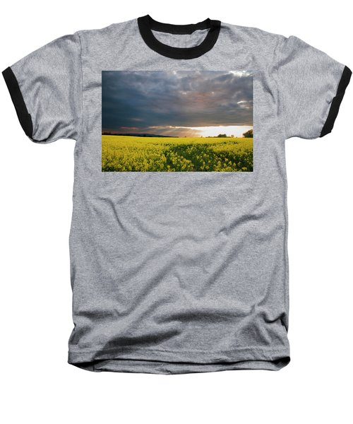 Baseball T-Shirt featuring the photograph Rays At Sunset by Rob Hemphill