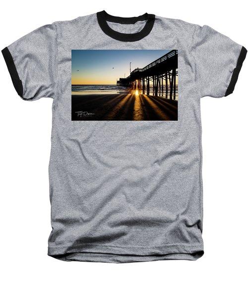 Rays Of Evening Baseball T-Shirt