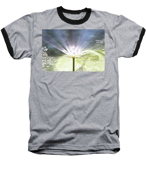 Rays Of Hope Baseball T-Shirt by Douglas Barnard