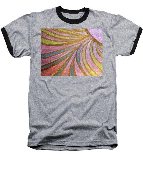 Rays Of Hope Baseball T-Shirt by Rachel Hannah
