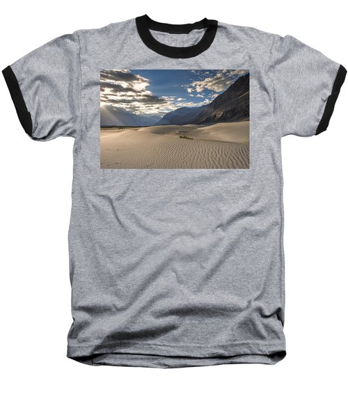 Rays On Dunes Baseball T-Shirt