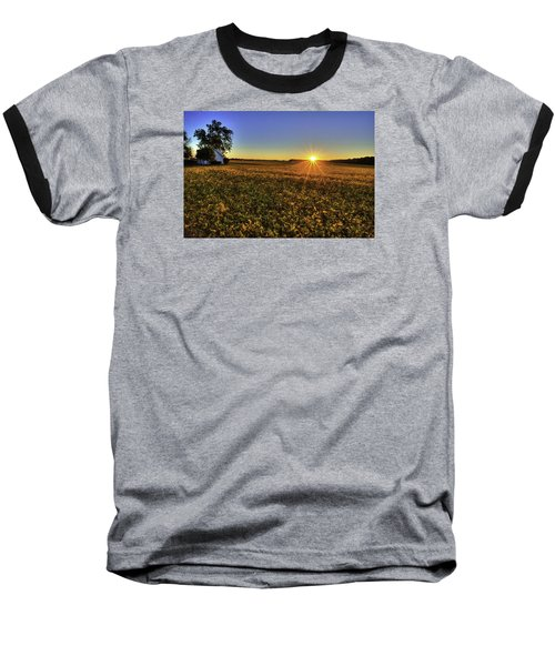 Rays Over The Field Baseball T-Shirt