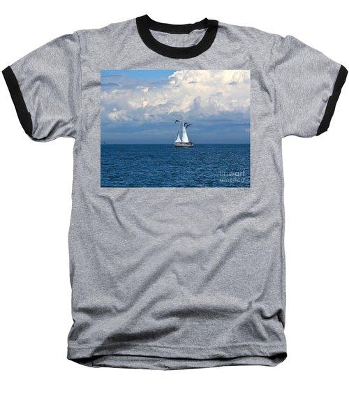 Razorbill Escort Baseball T-Shirt