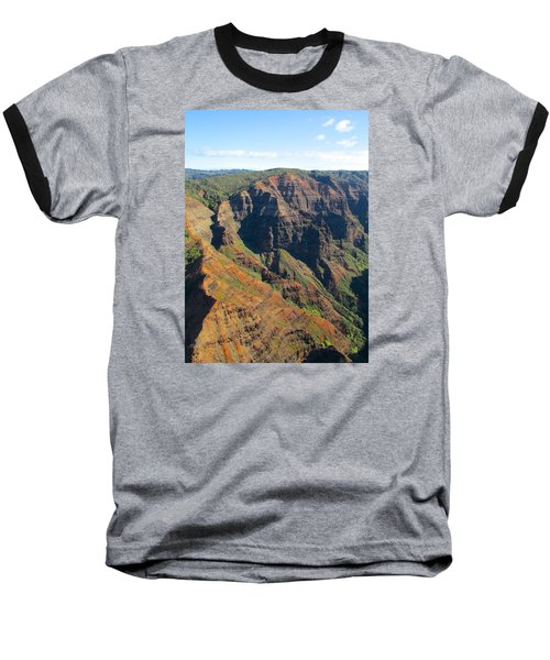 Baseball T-Shirt featuring the photograph Razor's Edge by Brenda Pressnall