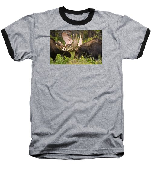Baseball T-Shirt featuring the photograph Reach Advantage by Aaron Whittemore