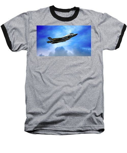 Reach For The Skies Baseball T-Shirt