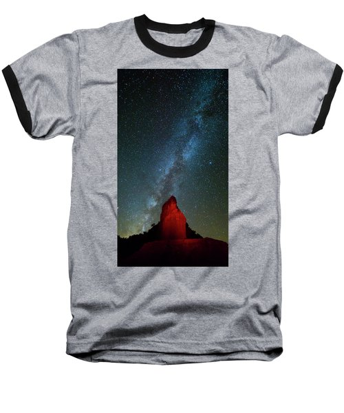 Baseball T-Shirt featuring the photograph Reach For The Stars by Stephen Stookey