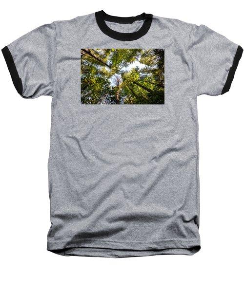 Reaching For Sky Baseball T-Shirt