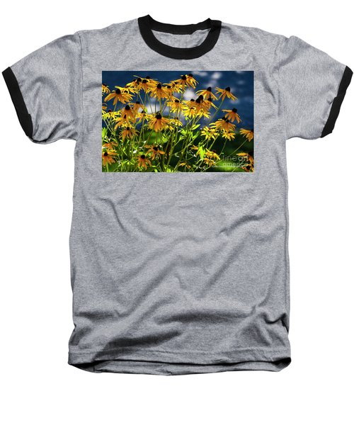 Reaching For The Blue Sky Baseball T-Shirt