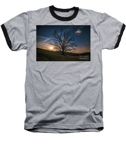Reaching For The Moon Baseball T-Shirt