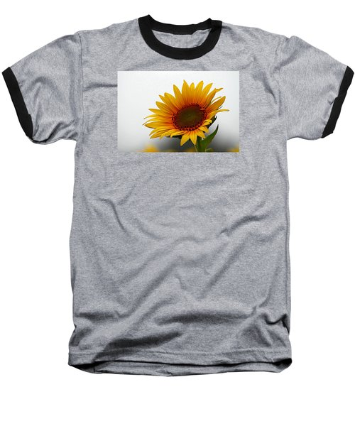 Reaching For The Sun Baseball T-Shirt by Karen McKenzie McAdoo