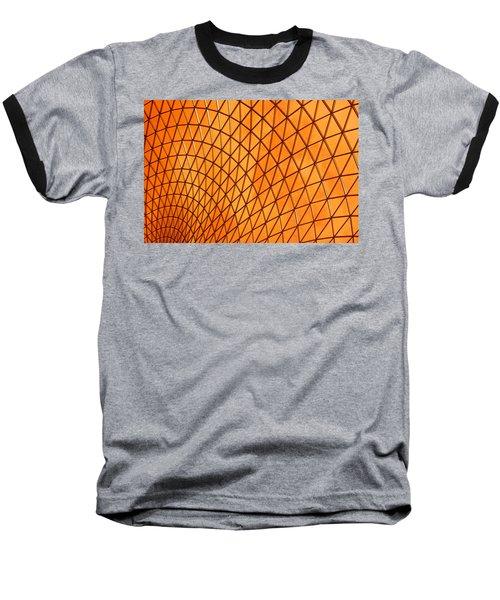 Baseball T-Shirt featuring the photograph Orange Glow by Elvira Butler