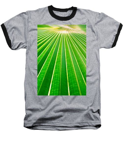 Reaching Out Baseball T-Shirt by Holly Kempe