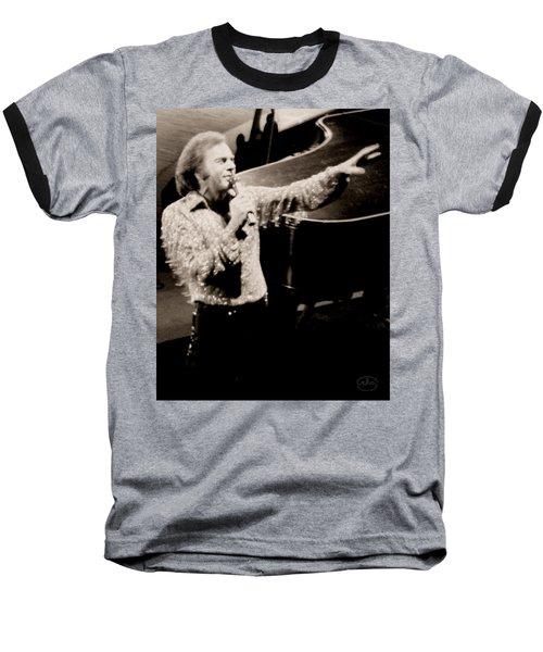 Reaching Out Baseball T-Shirt by Ron Chambers