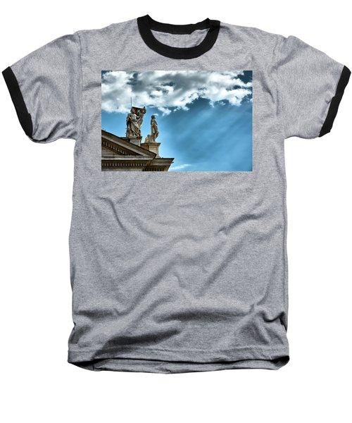 Reaching The Sky Baseball T-Shirt