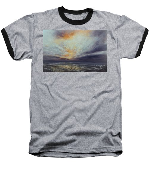 Reaching Higher Baseball T-Shirt by Valerie Travers