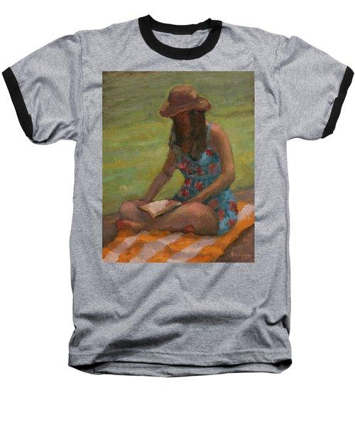 Reading At Jersey Valley Baseball T-Shirt