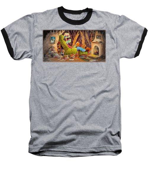 Reading Is Magic Pg 1 Baseball T-Shirt by Matt Konar