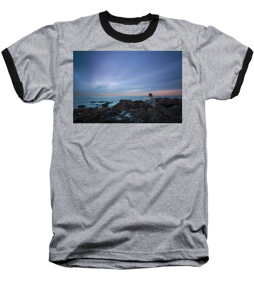 Reading Lets You Mind Travel Through Time  Baseball T-Shirt