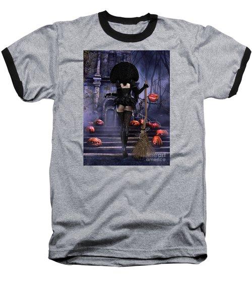 Baseball T-Shirt featuring the digital art Ready Boys by Shanina Conway