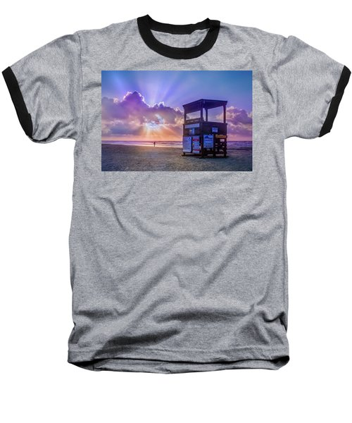 Baseball T-Shirt featuring the photograph Ready For A Glorious Summer by James Woody