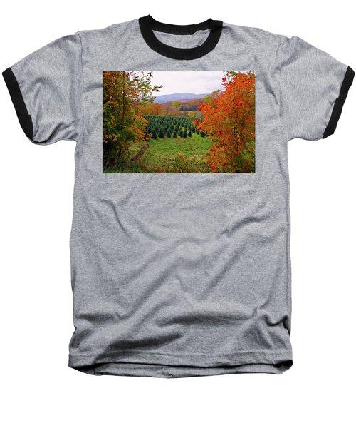 Ready For Christmas Baseball T-Shirt by Dale R Carlson