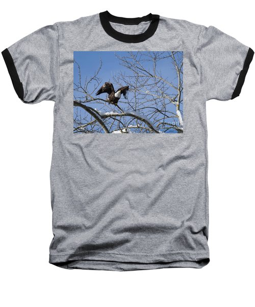 Baseball T-Shirt featuring the photograph Ready by Jim  Hatch