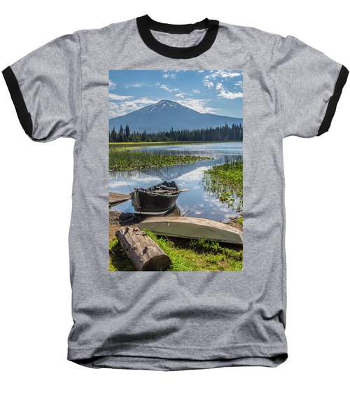 Ready To Fish Baseball T-Shirt