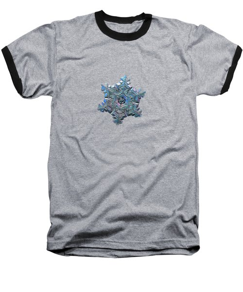 Real Snowflake - 05-feb-2018 - 3 Baseball T-Shirt