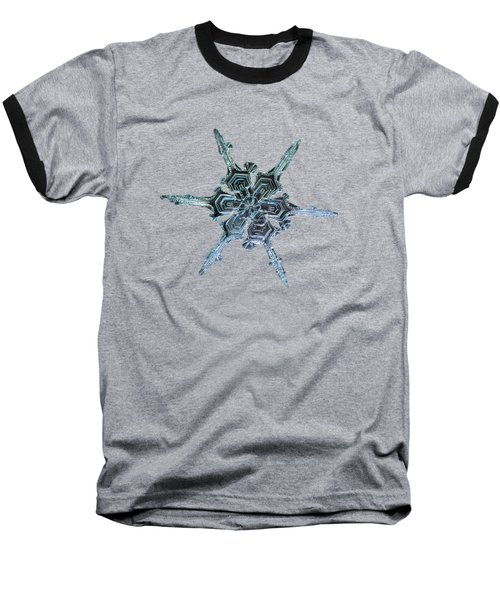 Real Snowflake Photo - The Shard Baseball T-Shirt