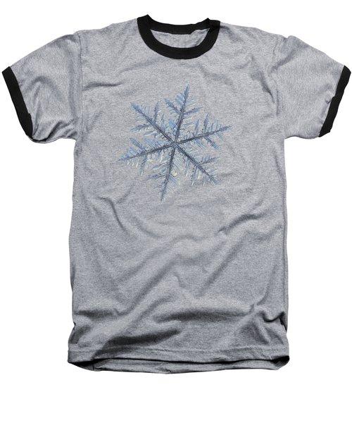 Real Snowflake - Silverware Black Baseball T-Shirt
