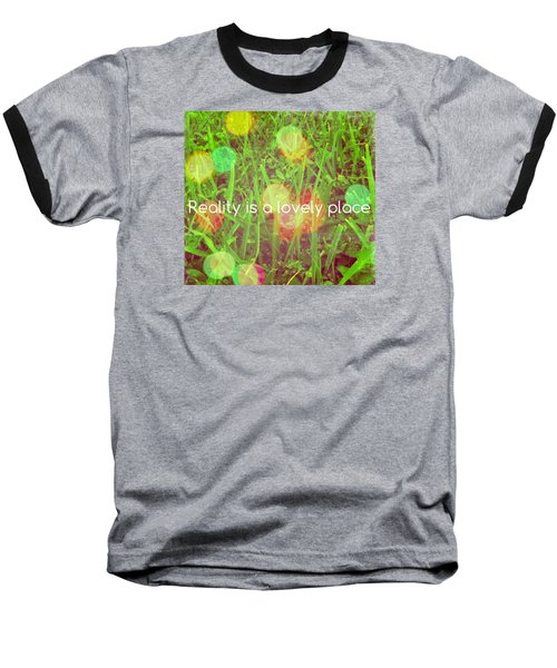 Baseball T-Shirt featuring the photograph Reality by Artists With Autism Inc
