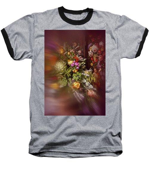 Floral Arrangement No. 1 Baseball T-Shirt by Richard Cummings