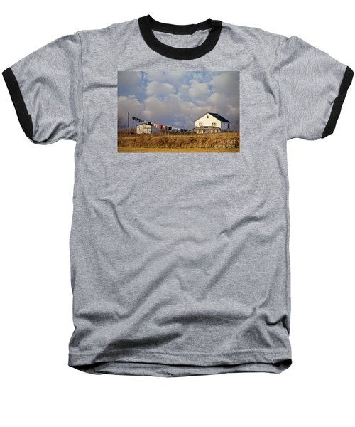 Really Long Clothesline Baseball T-Shirt