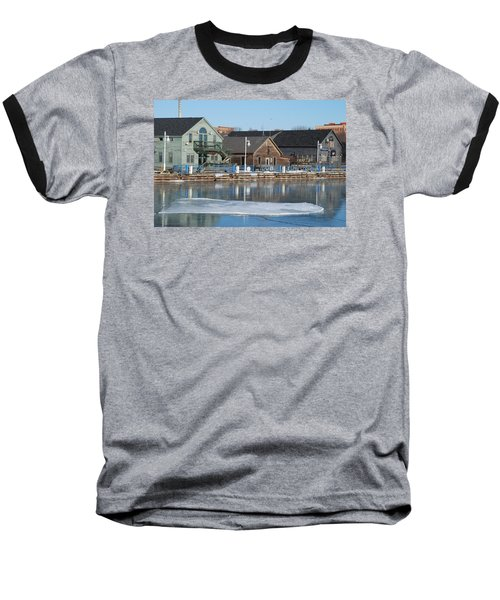 Remains Of The Old Fishing Village Baseball T-Shirt by Janice Adomeit