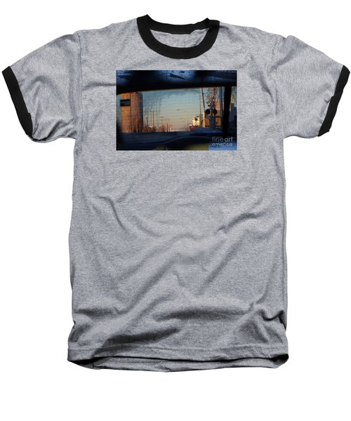 Rear View 2 - The Places I Have Been Baseball T-Shirt by David Blank