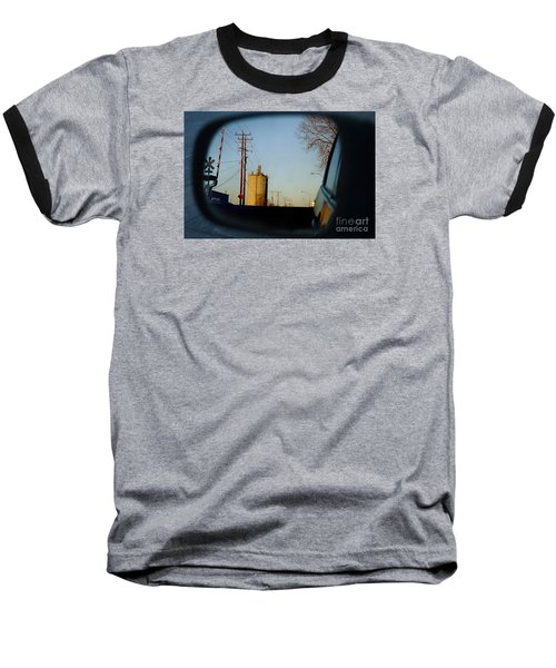 Rear View - The Places I Have Been Baseball T-Shirt by David Blank