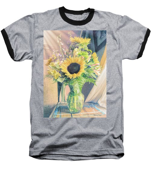 Baseball T-Shirt featuring the photograph Reared In The Lap Of Summer by Bellesouth Studio