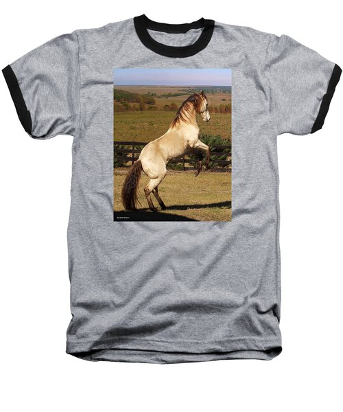 Wild At Heart Baseball T-Shirt by Barbie Batson