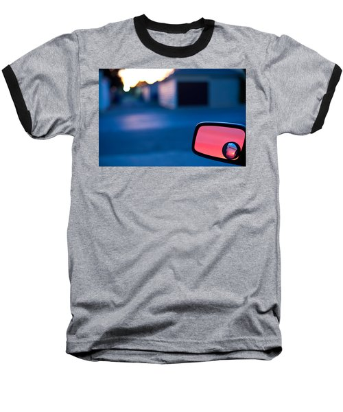 Rearview Mirror Baseball T-Shirt