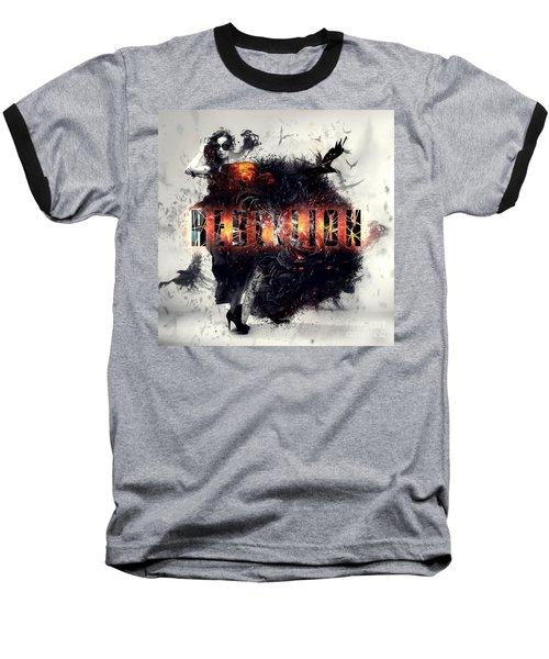 Baseball T-Shirt featuring the digital art Rebellion by Mo T