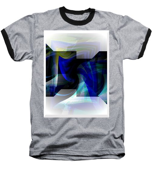 Transparency 2 Baseball T-Shirt by Thibault Toussaint