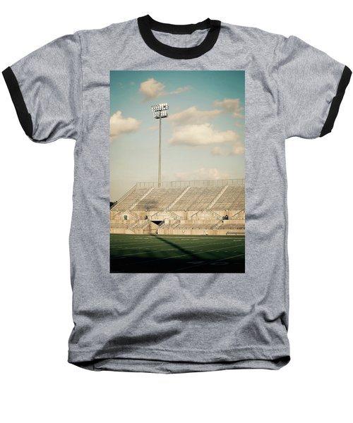 Baseball T-Shirt featuring the photograph Recalling High School Memories by Trish Mistric
