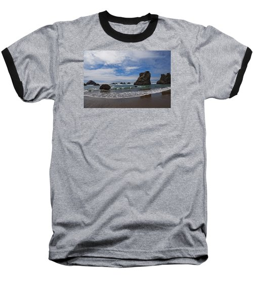 Receding Wave Baseball T-Shirt