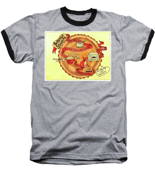 Recipe-butternut Squash Pie Baseball T-Shirt